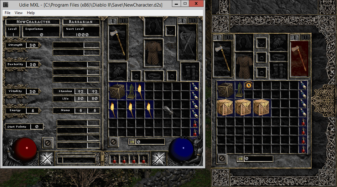 Character/item editing and maphack | Diablo II: Median XL
